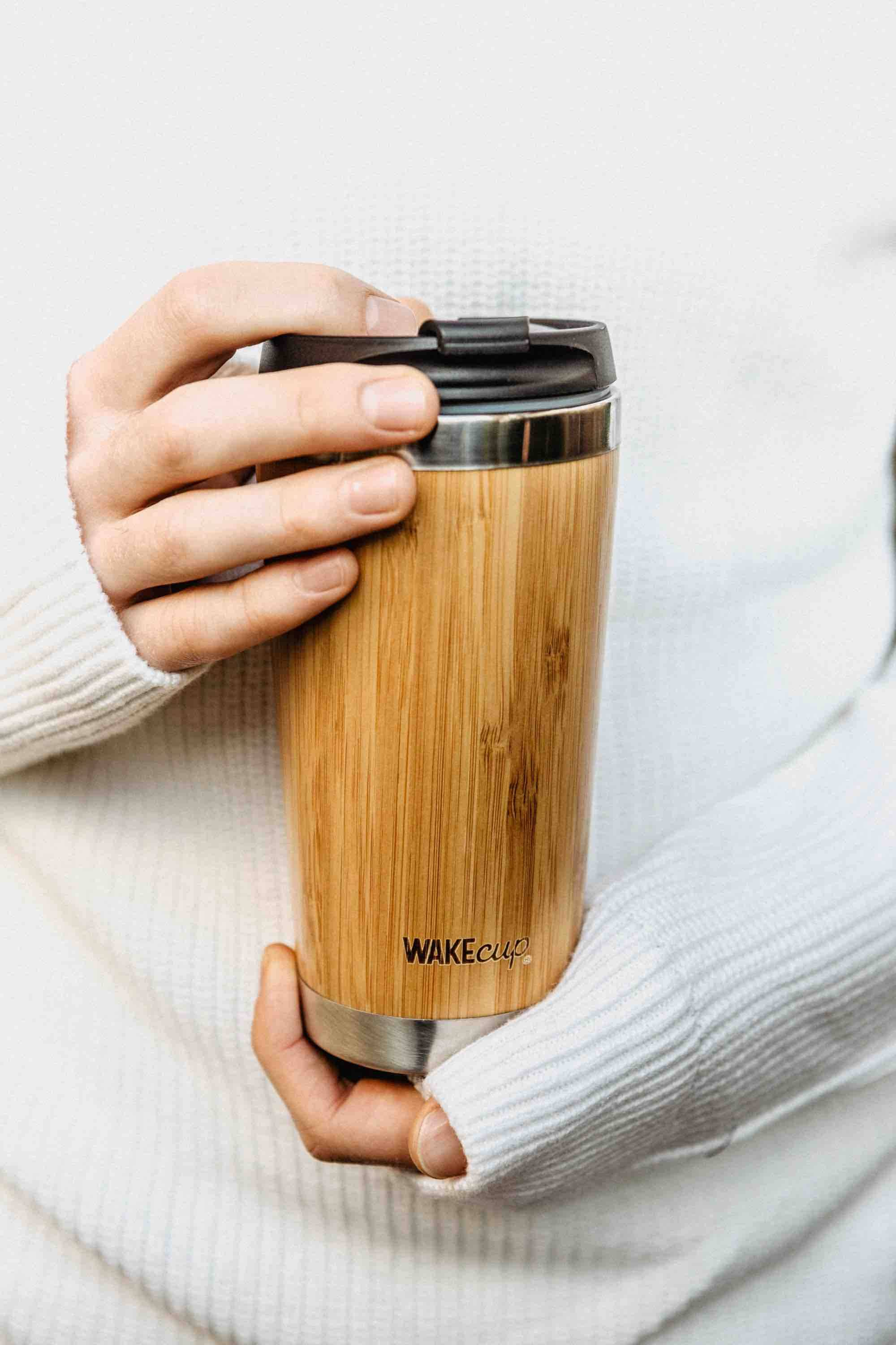 Wakecup Reusable Coffee Cup