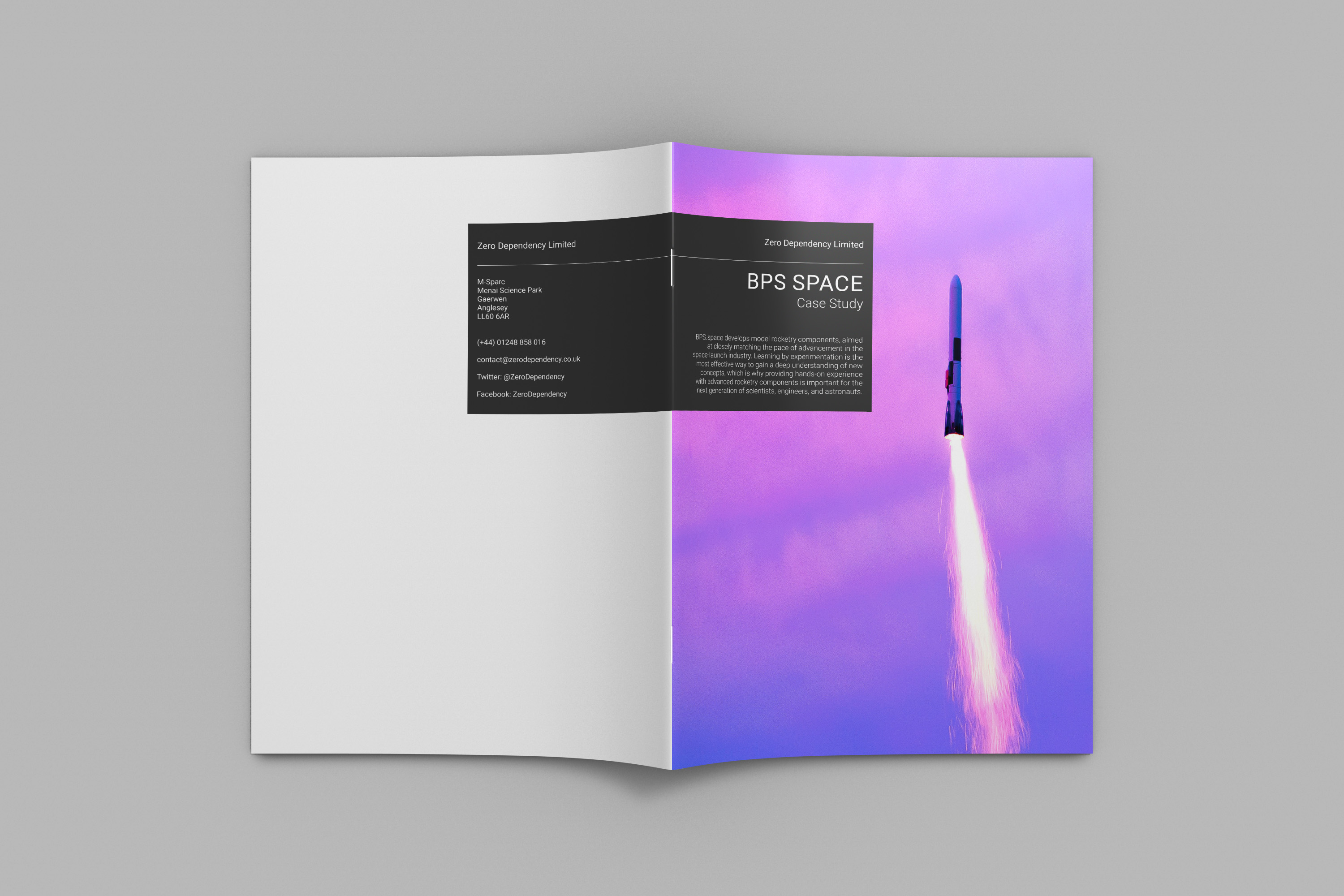 Zero Dependency BPS Space Case Study Brochure Cover
