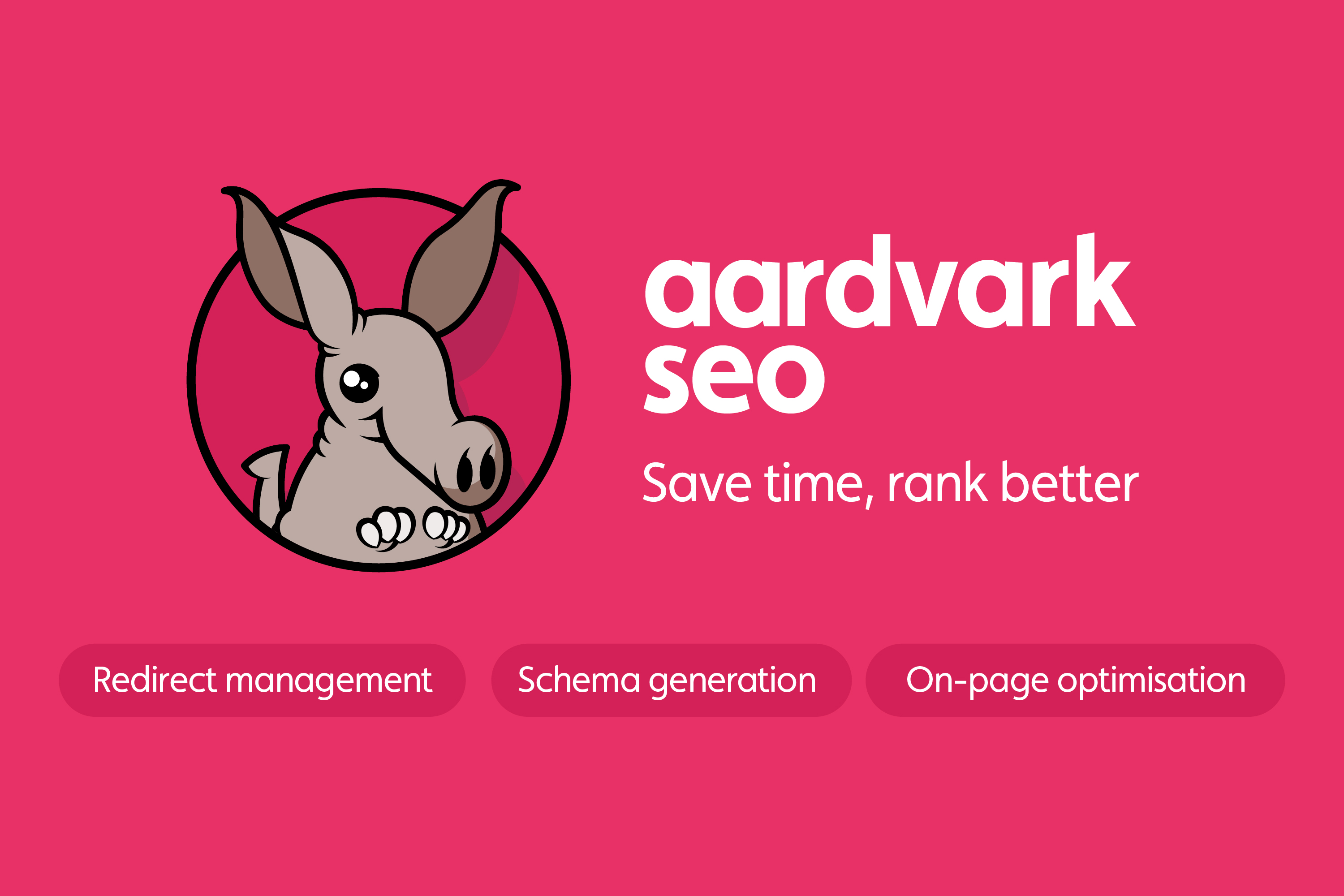 Aardvark SEO Mascot as used on Statemic site