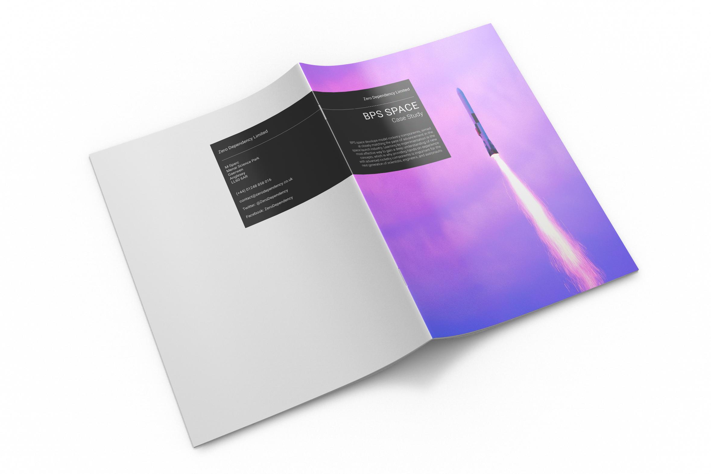 Zero Dependency BPS Space Case Study Brochure Cover