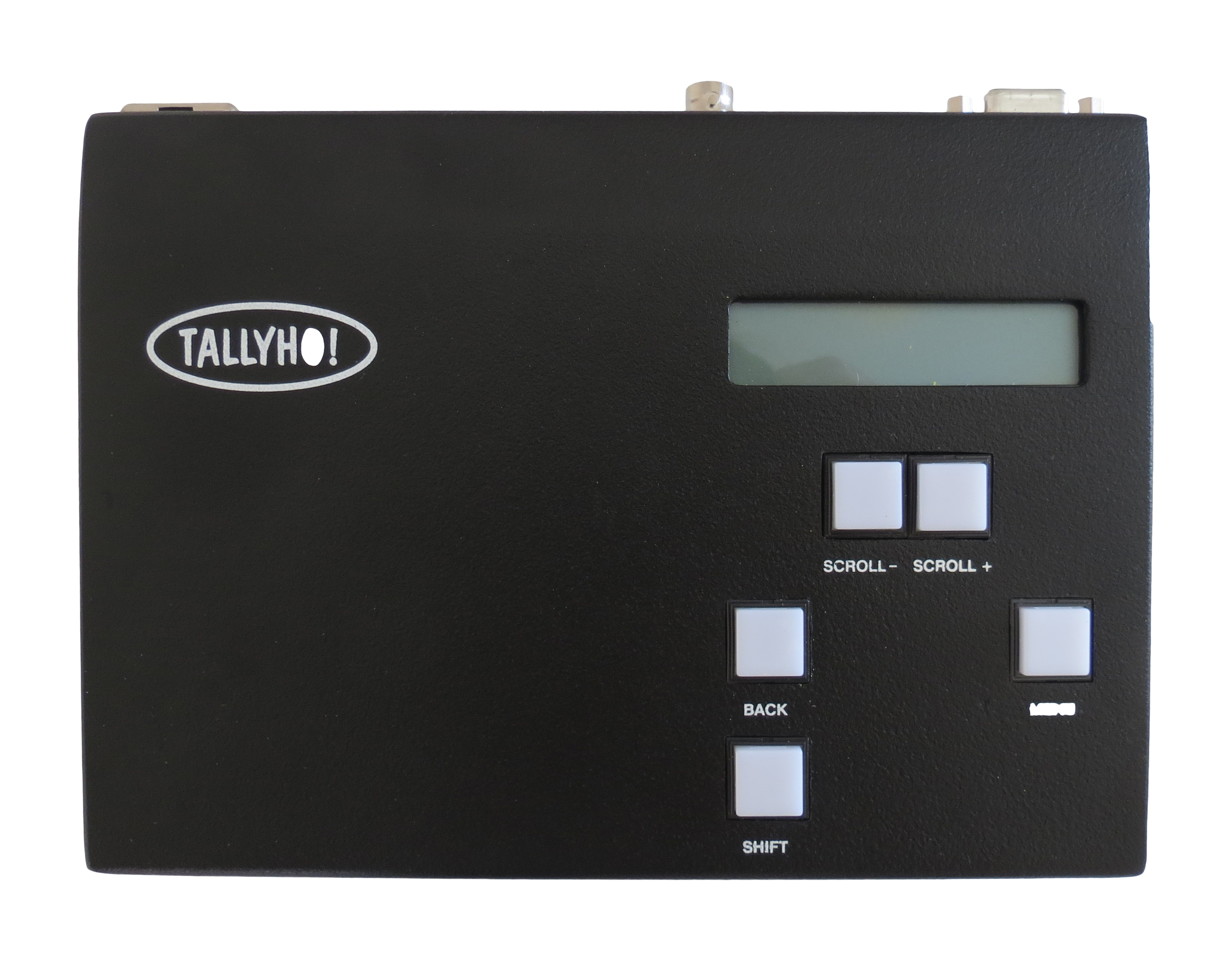 Tally Ho! Wireless System - Top of Receiver