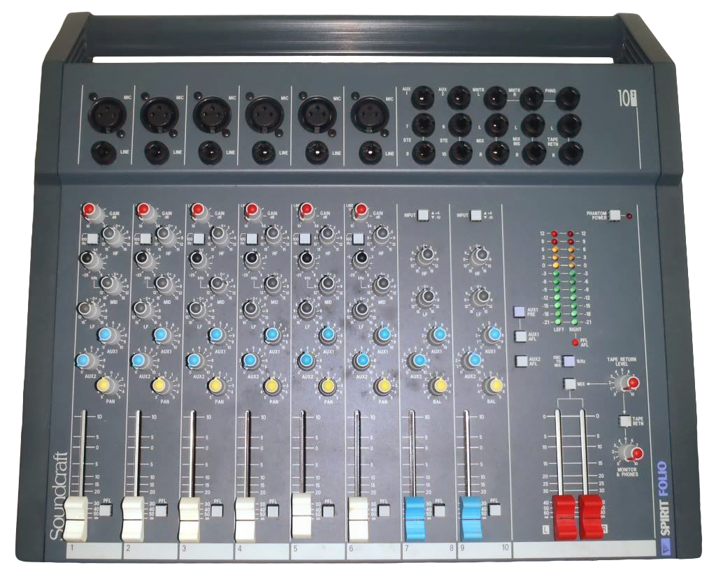 Soundcraft Spirit Folio Mixer
