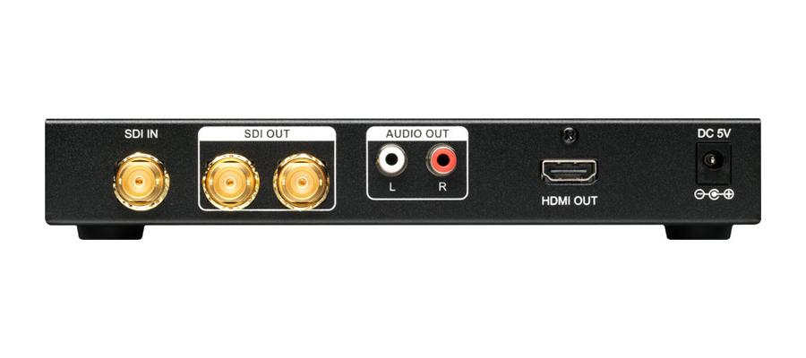 tvONE SDi to HDMI Converter Rear