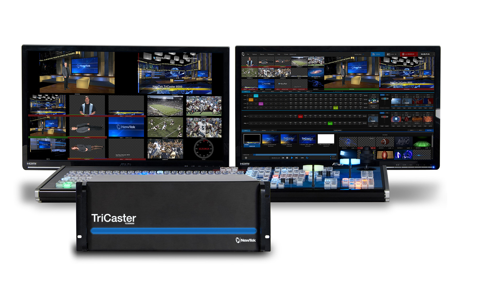 Newtek TriCaster 8000 and CS