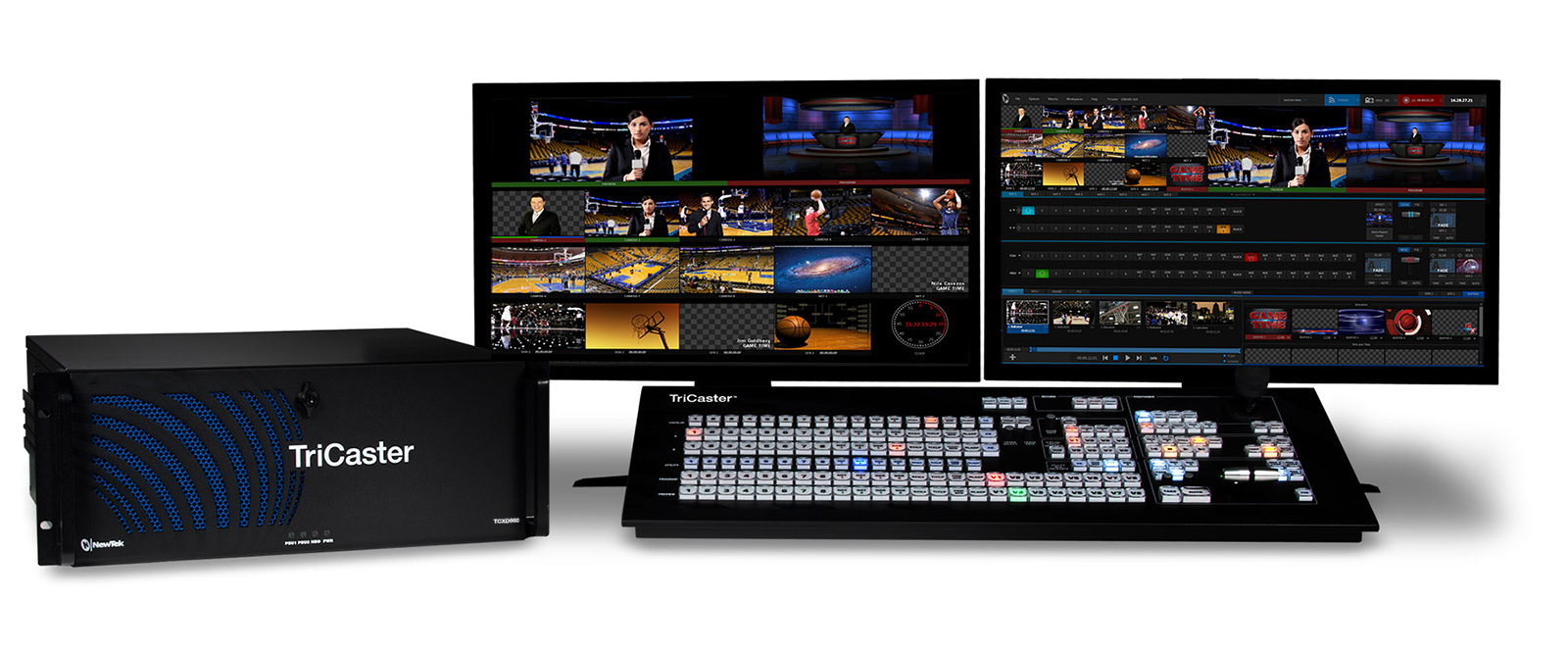 Newtek TriCaster 860 and CS