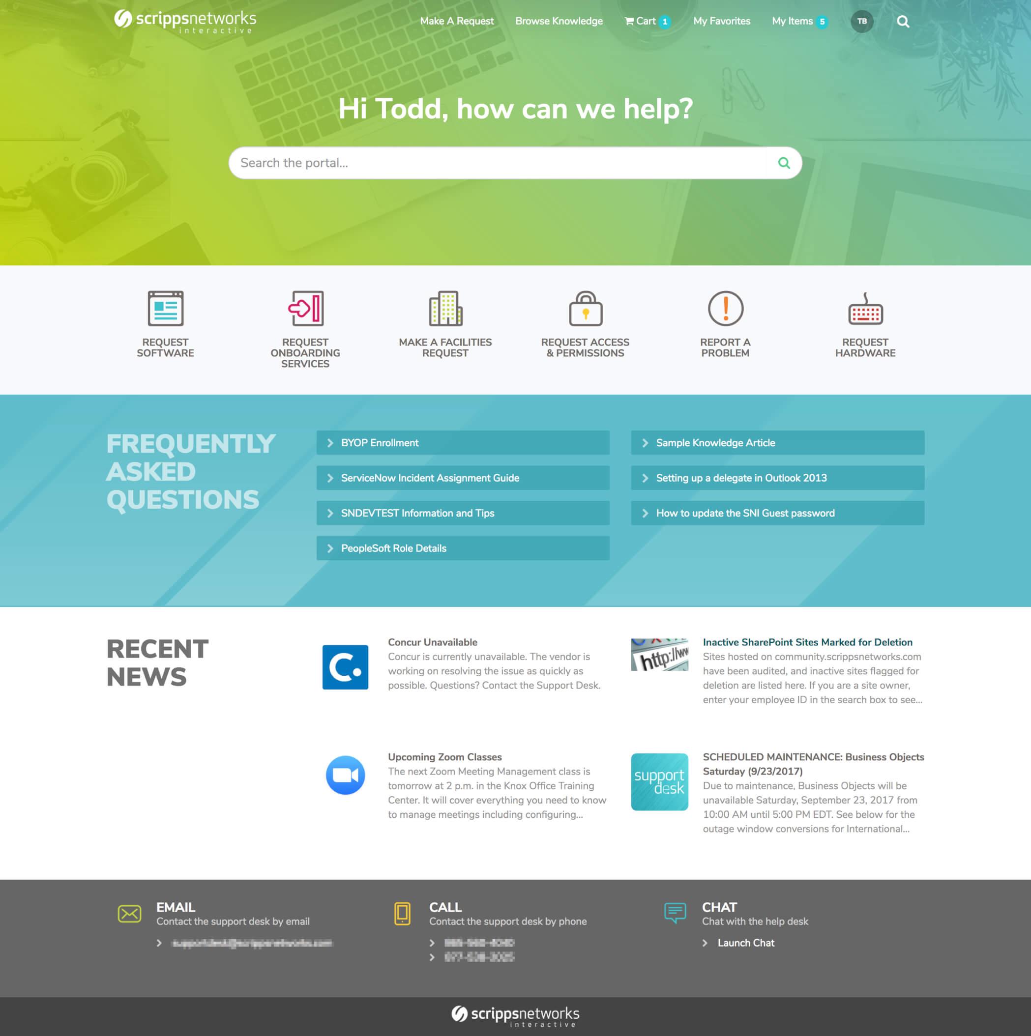 NewRocket - ServiceNow Service Portal Development & Themes