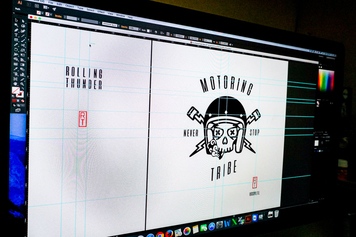 custom design studio logo
