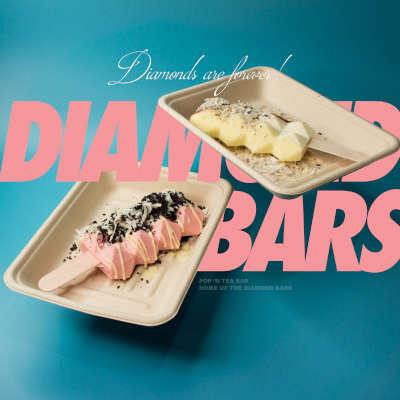 popntea diamond bars strawberry