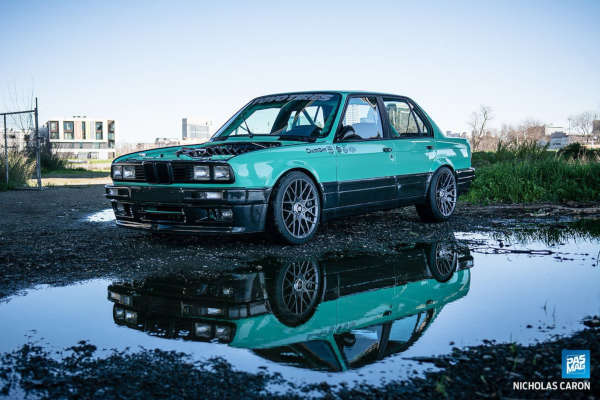 catuned minty e30 pasmag front