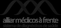 Logo Alliar Médicos à Frente, sistema de diagnósticos de saúde
