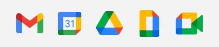 Ícones do Google Workspace