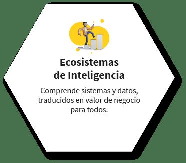Ecosistemas de Inteligencia Comprende sistemas y datos, traducidos en valor de negocio para todos.