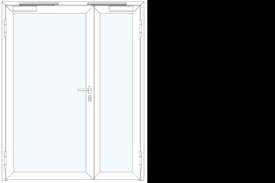 Portes vitrées coupe-feu