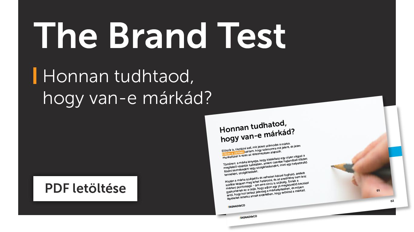 Brand Teszt PDF letöltés