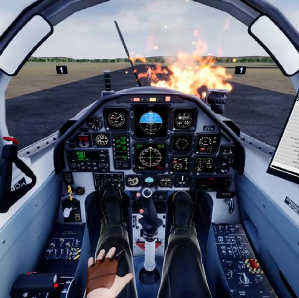 Aircraft simulation