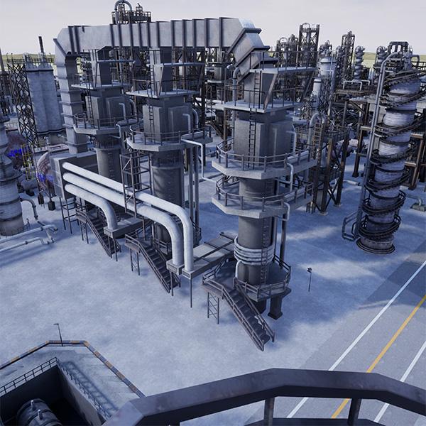 Refinery simulation