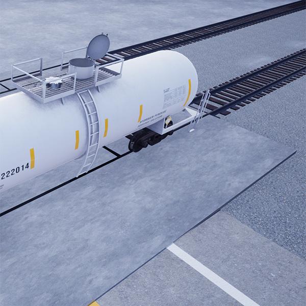 Railcar depot simulation