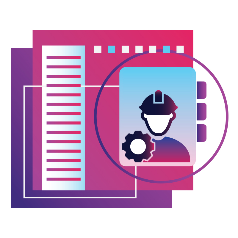 Workforce safety illustration