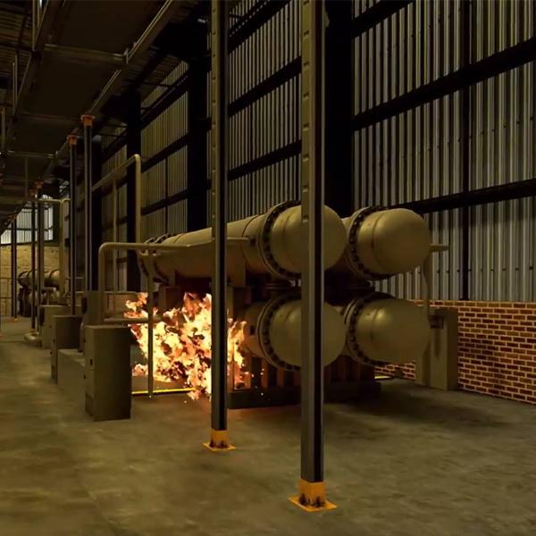 Warehouse simulation