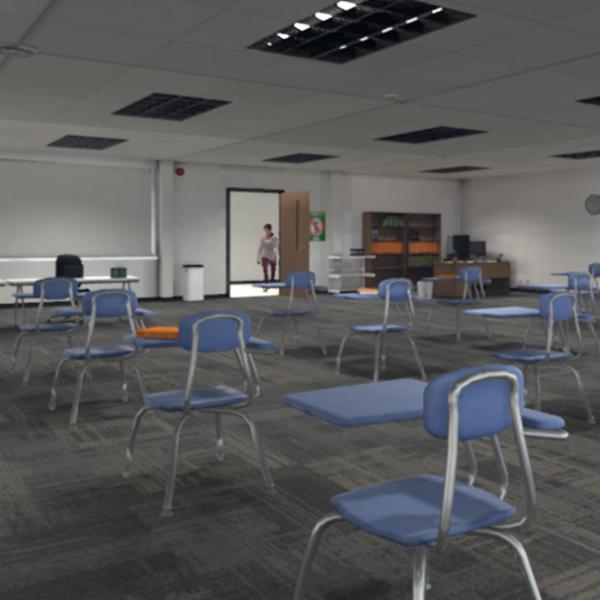 Classroom simulation