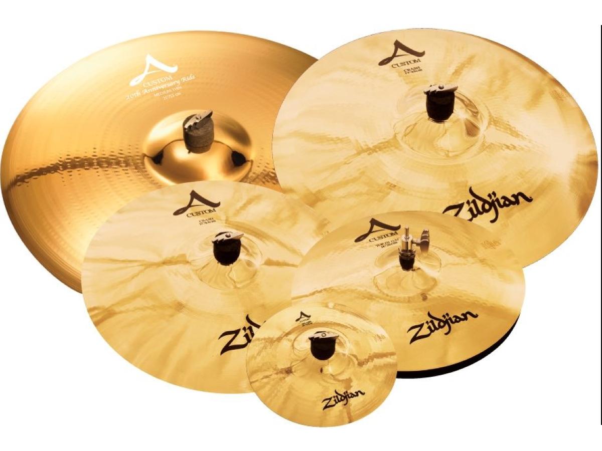 Zildjian ACP120 A Custom Mastersounds Cymbal Pack, New