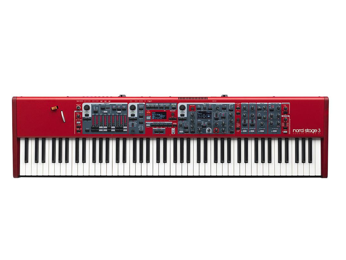 Nord Stage 3 88 Fully Weighted Hammer-Action Synthesizer Keyboard, 88-Key