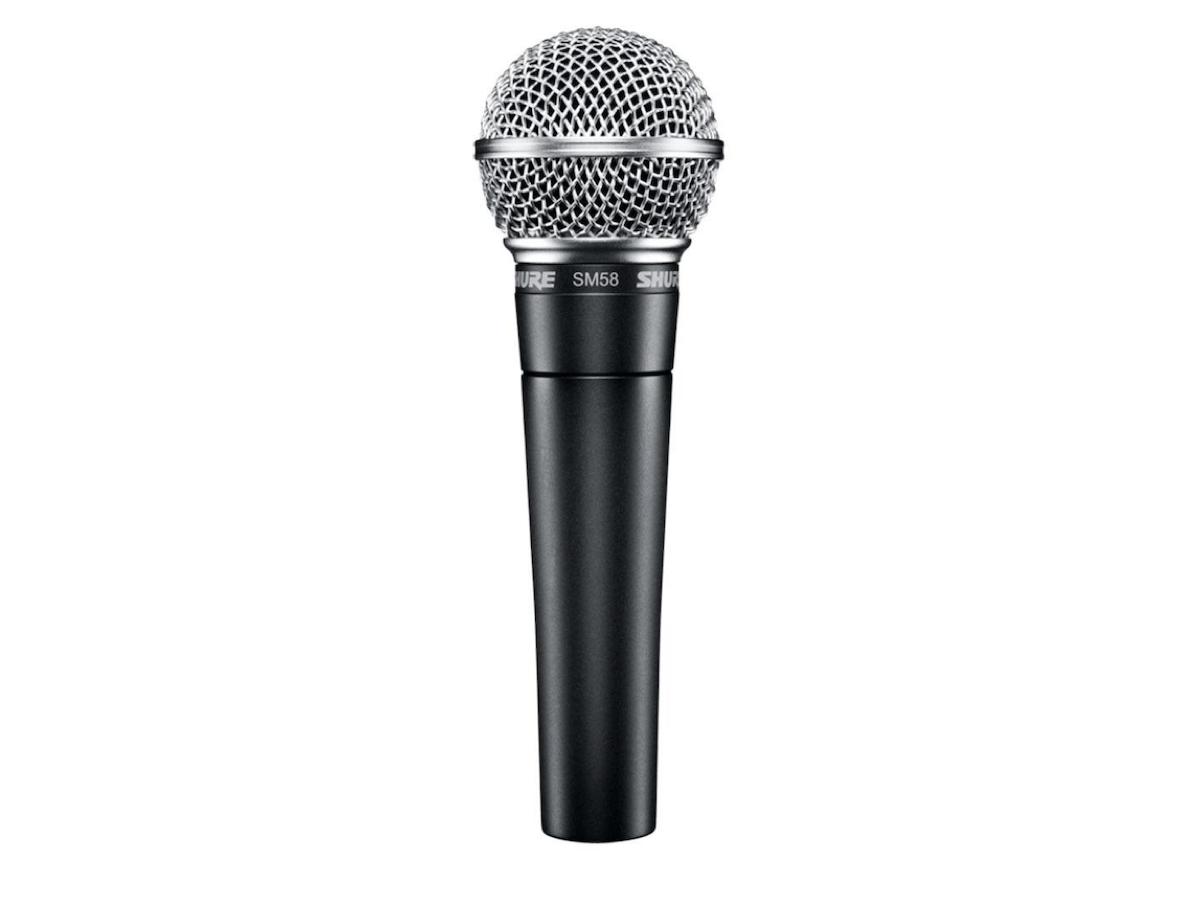 Shure SM58 Dynamic Handheld Microphone, SM58-LC