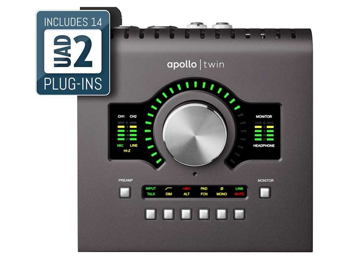 Universal Audio Apollo Twin MkII Thunderbolt Audio Interface, DUO
