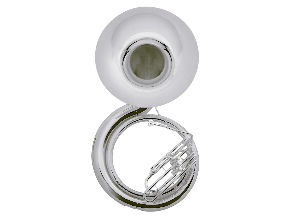 Jupiter JSP1100 Quantum Series BBb Sousaphone (Silver)