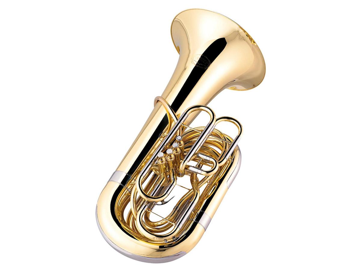Jupiter JTU1110 Performance Series 4-Valve BBb Tuba Lacquer
