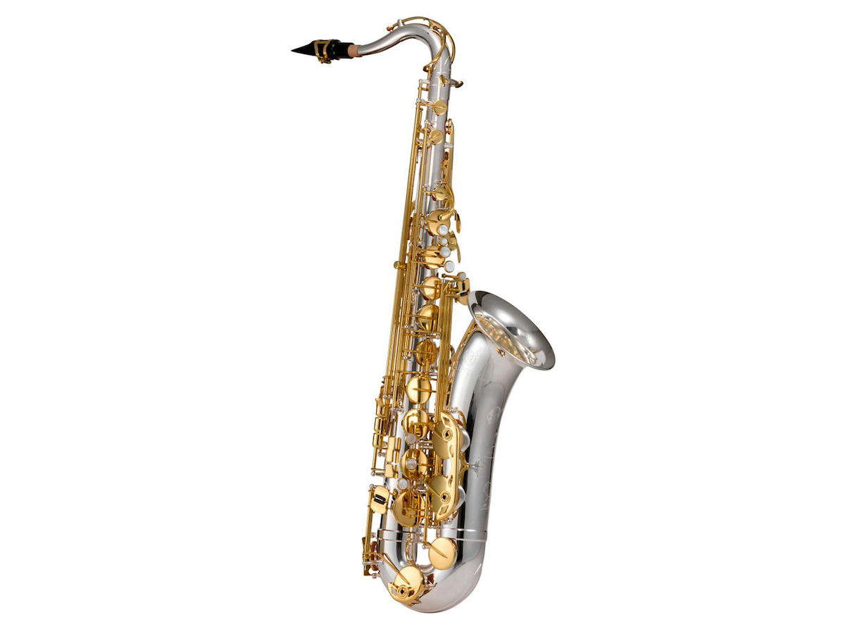 Jupiter JTS1100SG Tenor Saxophone Silver Plated, Gold Lacquer Keys