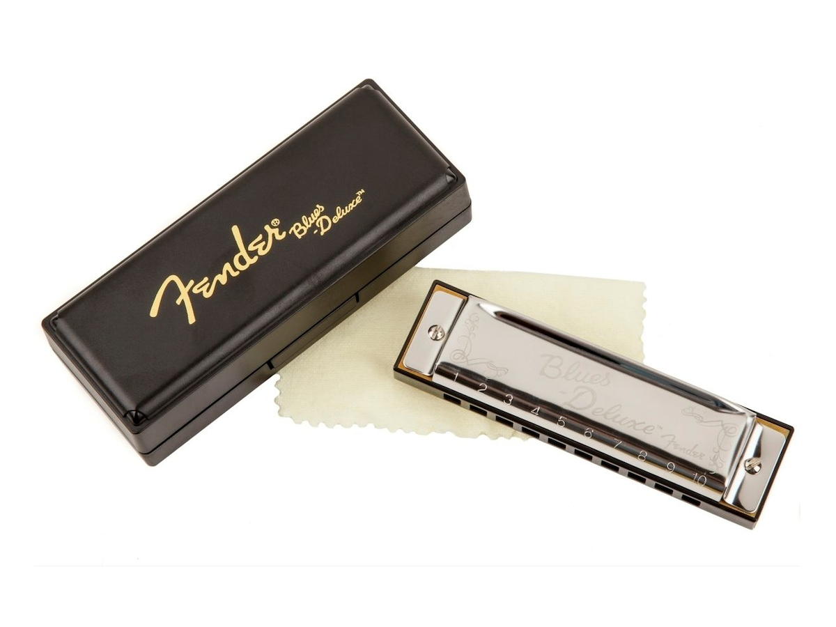 Fender Blues Deluxe Harmonica, 7-Pack (with Case)