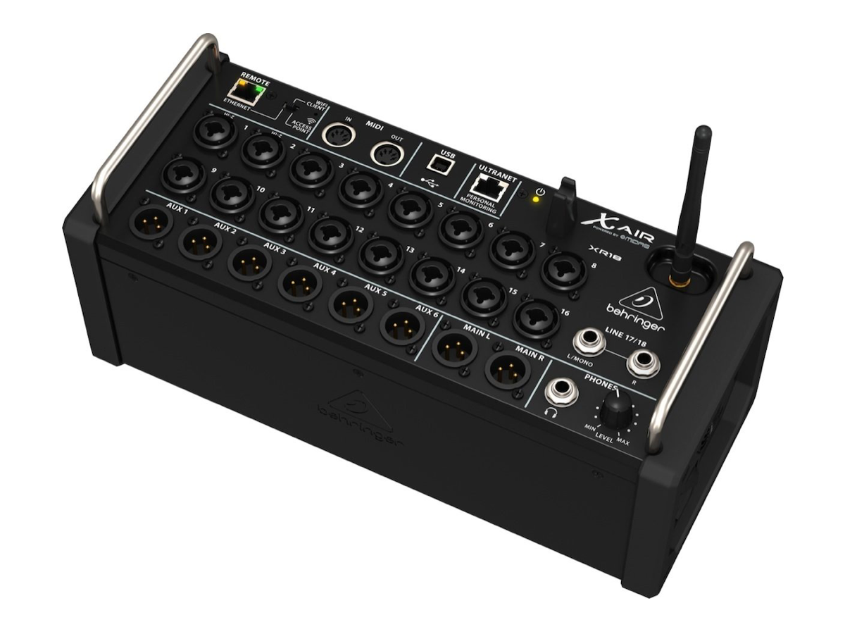 Behringer XR18 XAIR Digital Mixer, 18-Channel