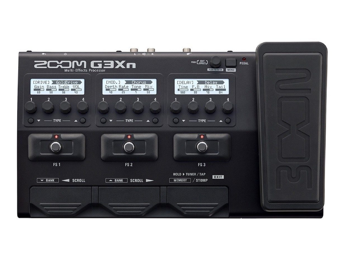 Zoom G3Xn Multi-Effects Guitar Pedal, New