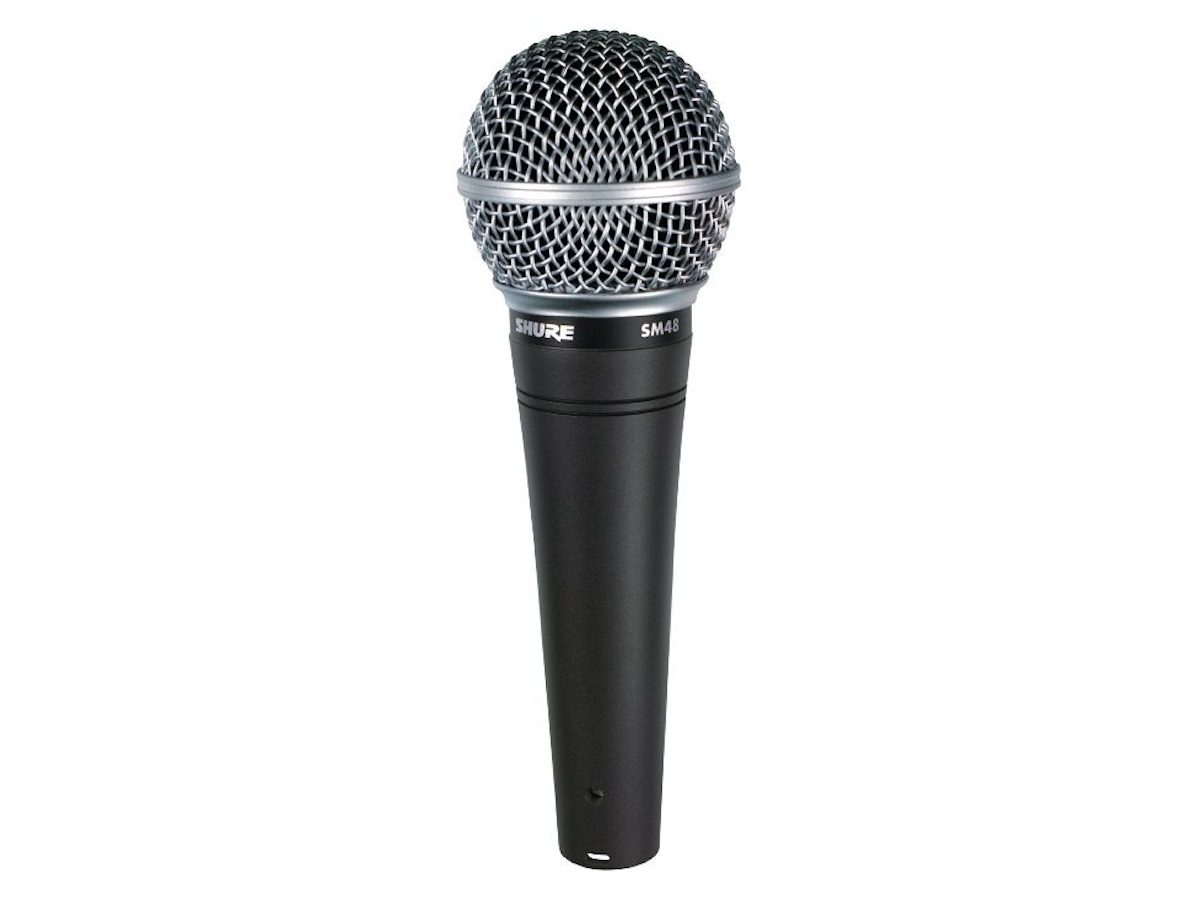 Shure SM48 Dynamic Vocal Microphone, SM48 LC