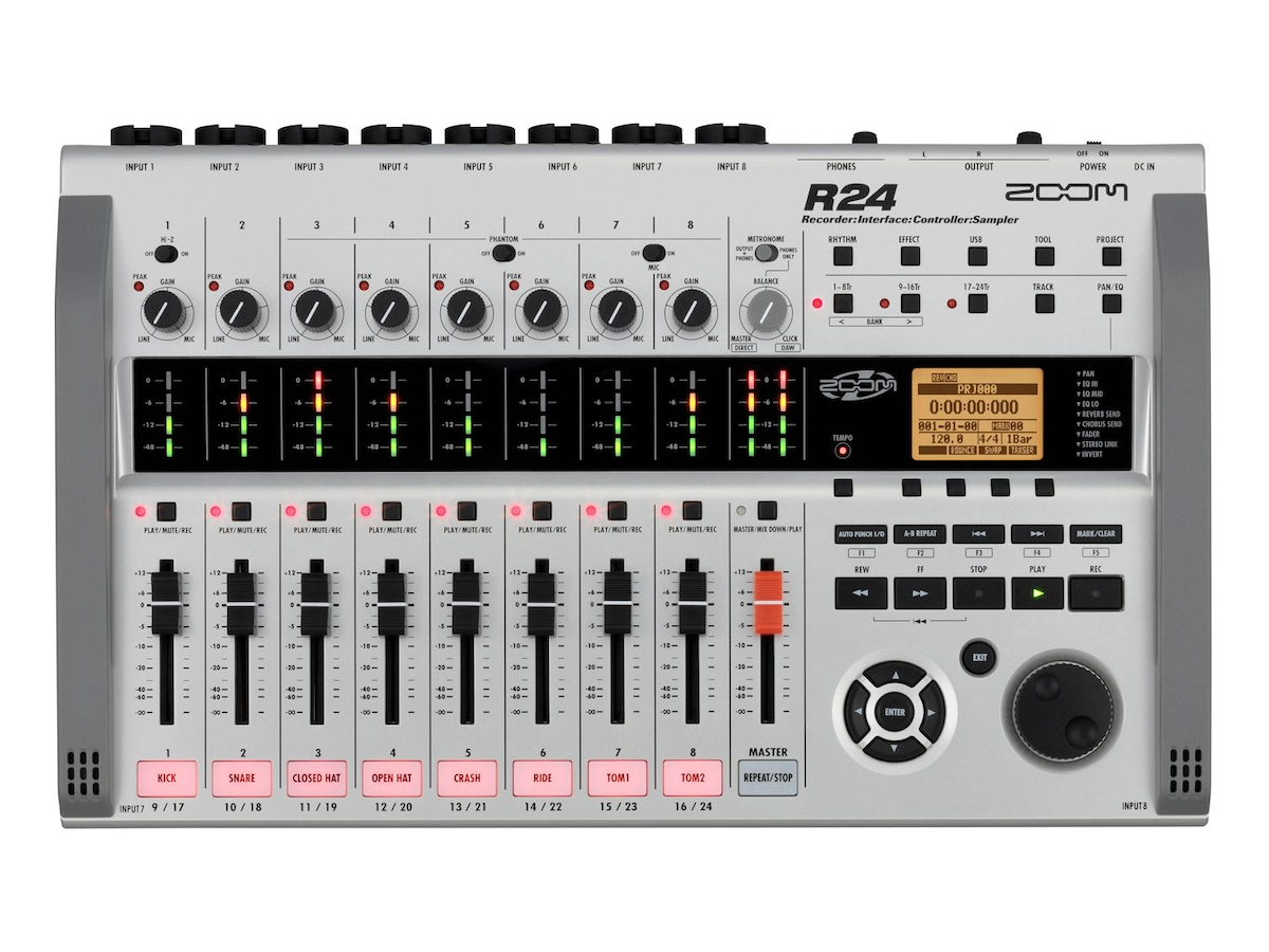 Zoom R24 Multi-Track Recorder Controller