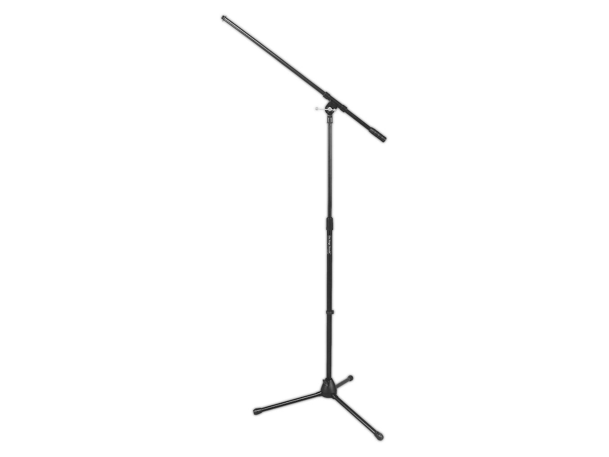 On-Stage 7701 Tripod/Boom Microphone Stand, Black, 7701B