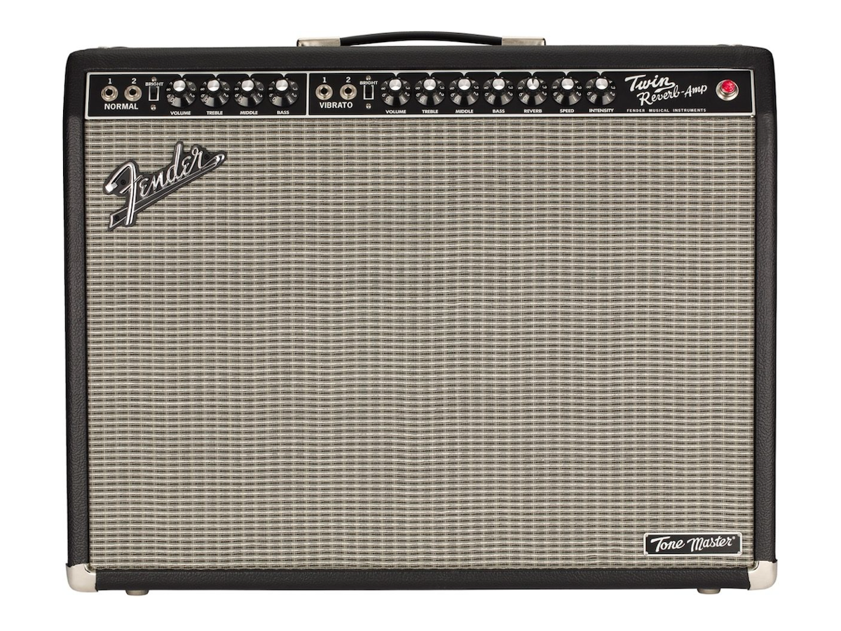 "Fender Tone Master Twin Reverb Guitar Combo Amp (2x12"", 200 Watts)"