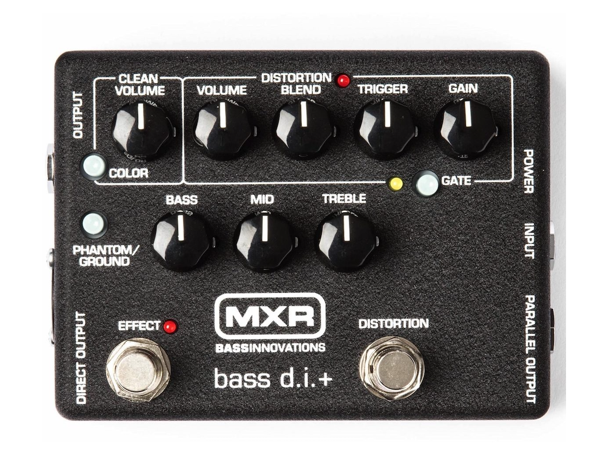 MXR M80 Bass D.I.+ Direct Box and Preamp with Distortion