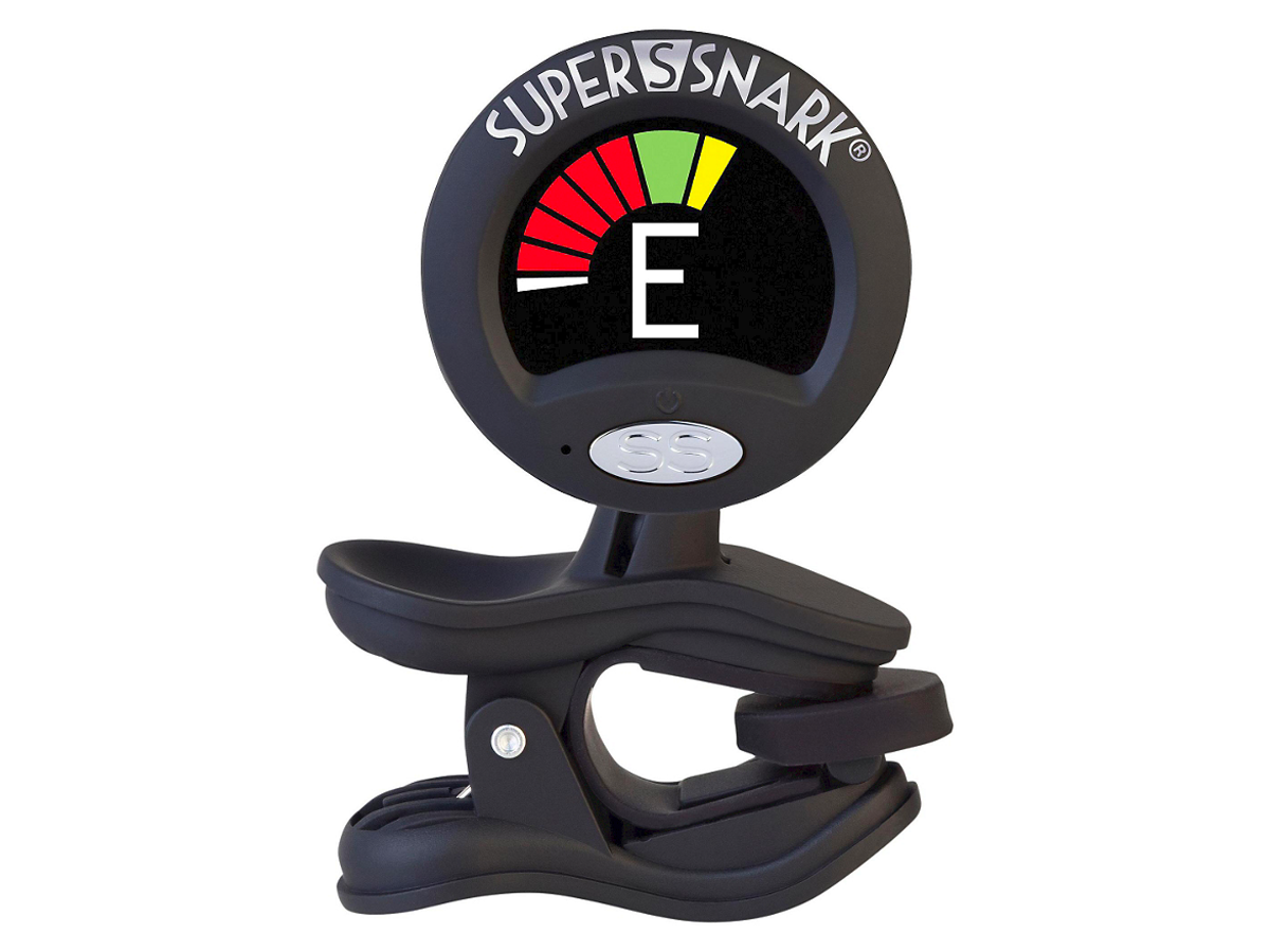 Snark Super Snark 2 Clip-On Tuner Black