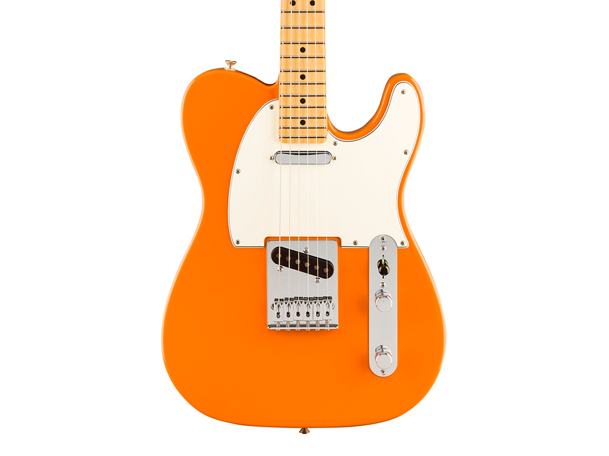Fender Player Telecaster Maple Fingerboard Electric Guitar  Capri Orange