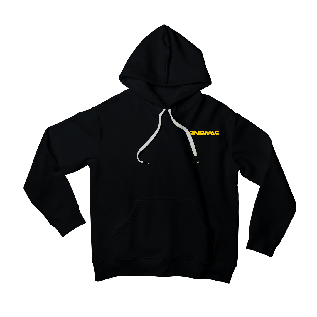 Stay warm during winter with this screen printed hoodie. Available in 3 color ways