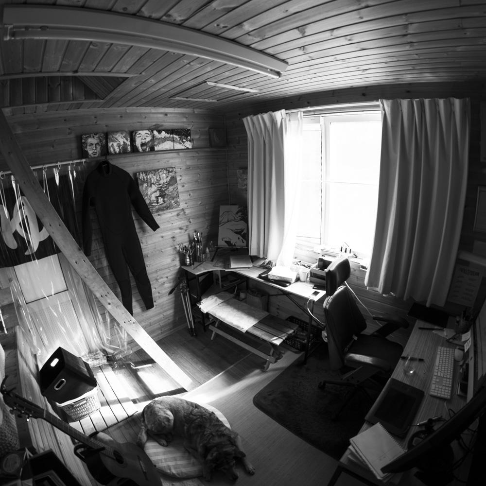 The MtnSea studio space