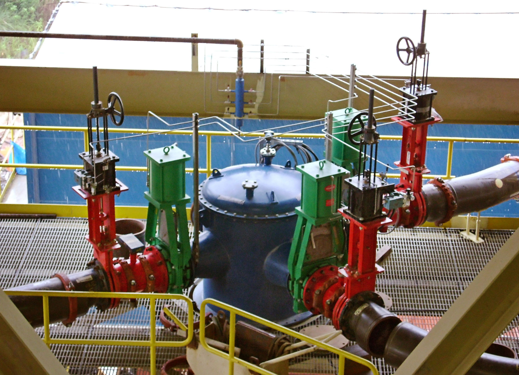 Slurryflo Control Valve used in cyclone application
