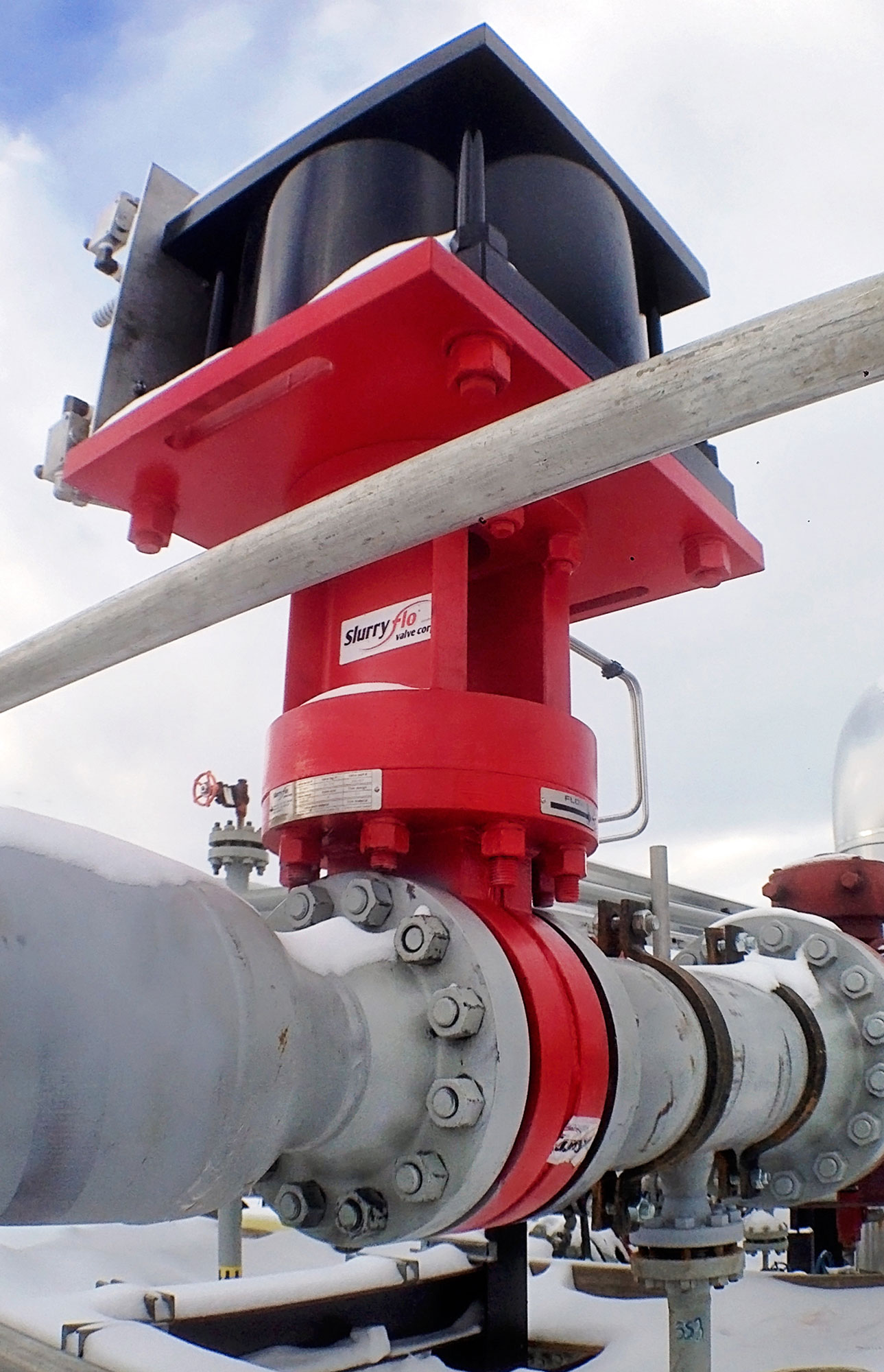 Slurryflo Control Valve used in high pressure gas service application
