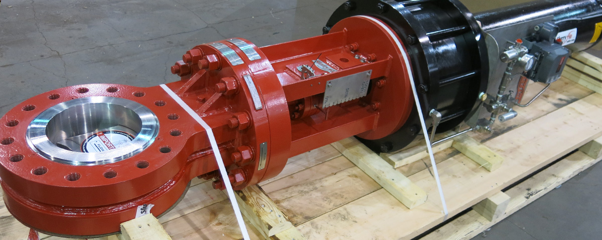 SlurryFlo Control Valves manufactures to CWP, ANSI 150, ANSI 300 and ANSI 600 standards,