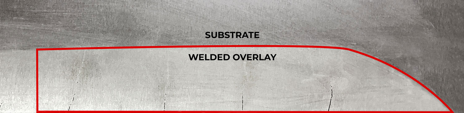 Tungsten carbide overlays on SlurryFlo control valve components increases performance & service life.