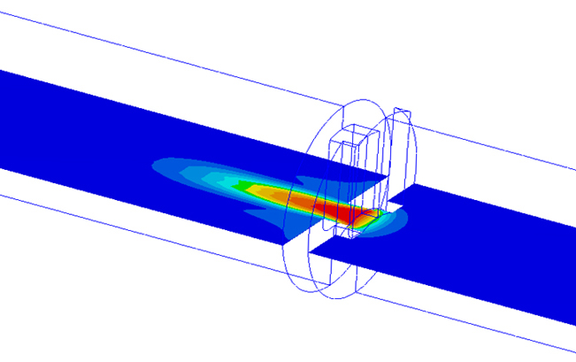 CFD Flow Conditions of original trim design.