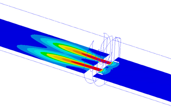 CFD Flow Conditions of new trim design.