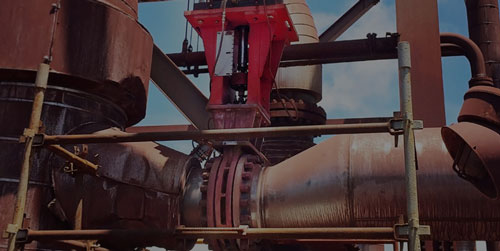 SlurryFlo control valve in nickle mining application